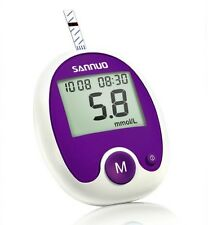 New Blood Glucose Kit Glucometer Sugar Meter Monitoring Set Automatic Power On