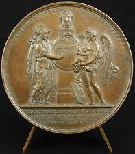 Médaille 29 9 1820 naissance d'Henri d'Artois Louis XIII Andrieu Duc de Bordeaux