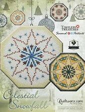 Celestial Snowfall Tree Skirt Foundation Paper Piecing Pattern by Judy Niemeyer