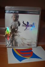 Final Fantasy XIII-2 PS3 Complete Game Black Label NM/M condition
