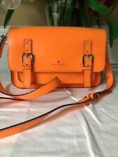 Kate Spade Esses Scout bright orange Bag purse messenger bag (u150