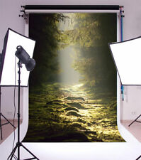 3x5ft Forest quiet light Photography Background Photo Studio Backdrop