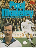 LEEDS UTD  PAUL MADELEY SOUVENIR TESTIMONIAL BROCHURE  1976/77