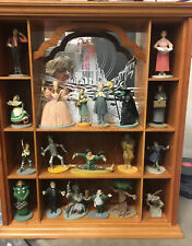Franklin Mint Wizard If Oz 1988 Figurines With Display Case 19 Pieces Plus Case