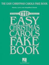 The Easy Christmas Carols Fake Book Sheet Music Melody Lyrics and Simp 000238187