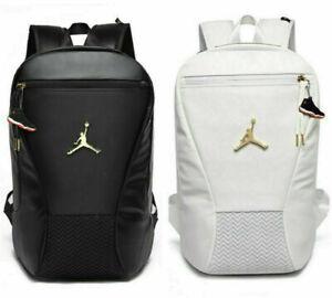 Jordan Backpack Boys Student School Bag Large Capacity Waterproof Travel Bag New
