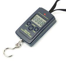 40 Kg x 20 Gram Hanging Pocket Digital Scales Weight Fishing Travel Luggage .