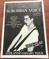 SUBURBAN VOICE Magazine: # 41, Anti-Flag 15th Anniversary Issue VG in COLTR SLV