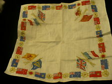 """Commonwealth country flag small handkerchief scarf  12.5"""" X 13"""" cotton ? S185"""