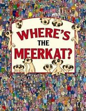 Where's the Meerkat? (Search and Find) by Paul Moran Book The Fast Free Shipping