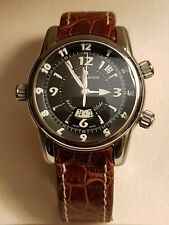 Maurice Lacroix Reveil Globe Automatic GMT 3 time zones and Alarm MP6388