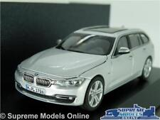 BMW 3 SERIES TOURING ESTATE MODEL CAR 1:43 SCALE SILVER HERPA SPECIAL ISSUE K8