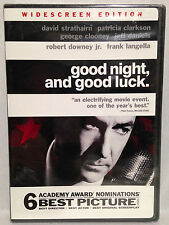 Good Night, and Good Luck (DVD, 2005) Widescreen, David Strathairn, BRAND NEW!