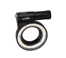 Weefine Ring Light 3000 Lumens Video Light Underwater Scuba Lighting Dive Gear