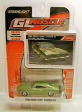1968 '68 DODGE CHARGER R/T HEMI DIECAST GL MUSCLE R15 GREENLIGHT 2016