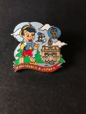Disney Pin Pinocchio Jiminy Cricket Disneyland Happiest Memories on Earth