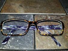 Ray Ban RB 5169 5023 Eyeglass Frames Brown Tortoise w Blue Sport Eyewear
