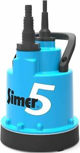 Jung Tauchpumpe SIMER 5 - flachsaugend bis 2mm - Pumpe - Wasserpumpe