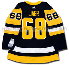 755275ef8 JAROMIR JAGR PITTSBURGH PENGUINS HOME AUTHENTIC PRO ADIDAS NHL JERSEY