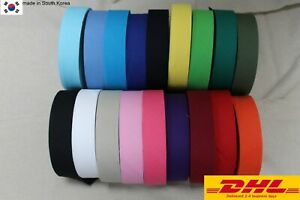 65yds single Bias Binding Tape Poly Cotton trim 32mm Solid 92 colour laceking