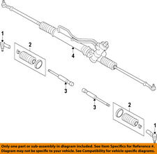 GM OEM Steering Gear-Inner Tie Rod End 95952929