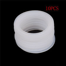 "10Pcs 2"" Sanitary Tri Clamp Silicon Gasket Fits 64mm OD Type Ferrule Flange HU"