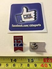 Montreal Canadiens Retired Banner Pin - Épinglette Yvan Cournoyer #12 Jersey