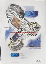 Ellesse Affinity Watch 1998 Magazine Advert