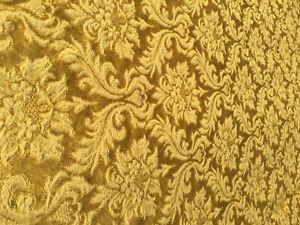 Vintage, Brokat, Vorhang, Baumwolle