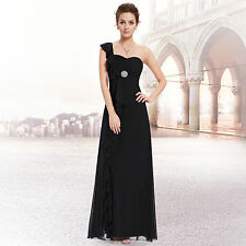 Ever-Pretty One Shoulder Regular Solid Dresses for Women
