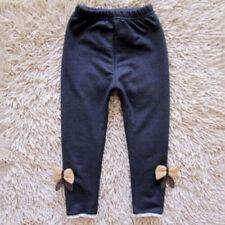 Toddler Baby Kids Girl Winter Warm Stretchy Long Pants Hosiery Leggings Trousers