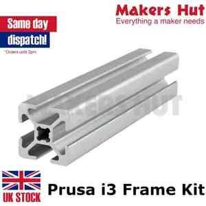 Prusa i3 Rework 2020 Aluminium Extrusion Frame Kit - 3D Printer