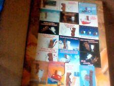 21 Kinderriegel Postkarten Milky & Schoki - NEU & RAR! Weihnachtskarten dabei!
