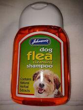 Johnsons Dog Flea Shampoo 125ML
