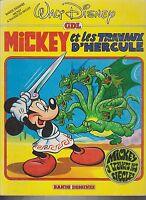 DISNEY. Mickey et les travaux d'Hercule. Hachette 1970 broché