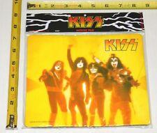 KISS Band 3-D Mousepad Sealed 2000 Farewell Tour Gene Simmons Ace Peter Paul