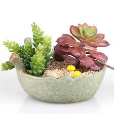 Birds and Leaf Ceramic Succulent Plant Flower Pot Flowerpot Planter Nursery Pots