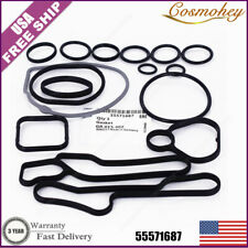 New 15pcs 1.6 1.8 OIL COOLER GASKETS SET 55571687 55354071 For 08-16 Cruze Sonic