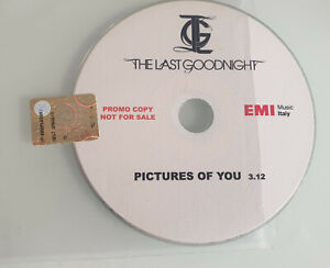 The Last Goodnight – Pictures Of You cd singolo Promo Raro 2007