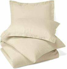 Solid Uni Mikrofaser Nur Bett Kissenbezug Beige Farbe Set Of 2 Best für Geschenk