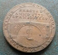 More details for superb 1792 half penny token payable at coalbrook dale and kettley
