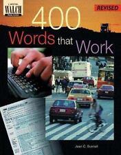 400 Words That Work : A Life Skills Vocabulary Program (Teacher's-ExLibrary