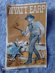 VTG 1957   WYATT EARP MARSHALL BADGE . METAL BADGE.
