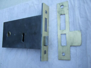 victorian mortice lock ( original )  r/hand