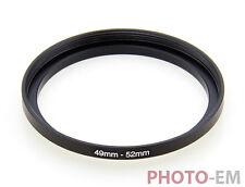 49 mm - 52 mm Filter Adapter Step Up Ring Filteradapter  Z-0457