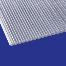 Stegplatte 16mm Doppelsteg Polycarbonat Hohlkammerplatte klar 15,99€/m²