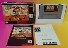 Mickey's Ultimate Challenge - SNES Super Nintendo Game COMPLETE Box + Manual