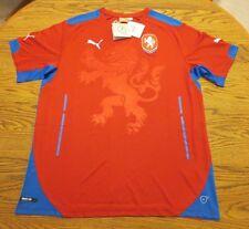 Puma Czech Republic 2014 Replica Away Jersey - White Size Large L or red M L $85