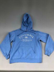 Columbia BLUE Pullover Hoodie, NYC medium Official College University Sweatshirt