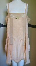 Vintage 1920s Silk Teddy Camisole Panties LRG SIZE